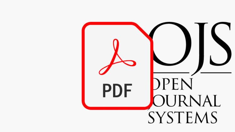 Как добавить PDF полного выпуска в OJS