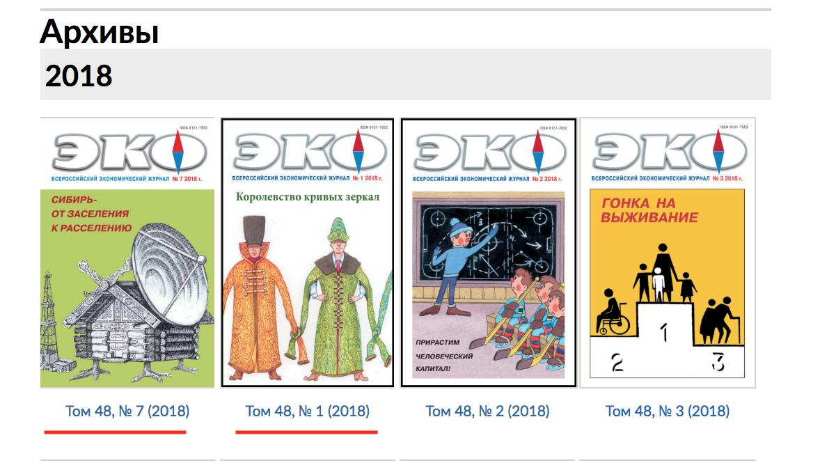 Сортировка порядка выпусков журнала OJS