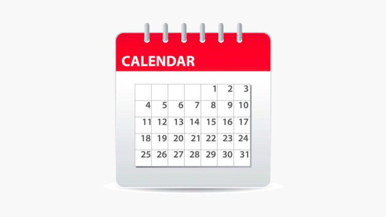 Как редактировать календарь